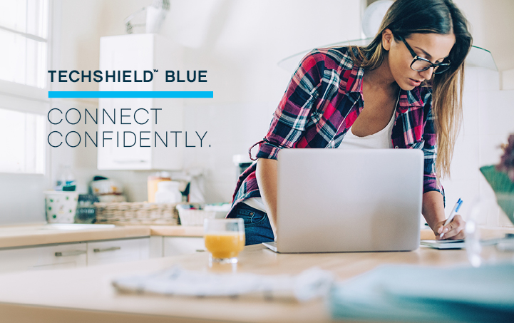 TechShield Blue